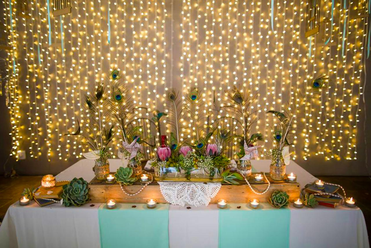 Choosing the perfect fairy lights for your wedding